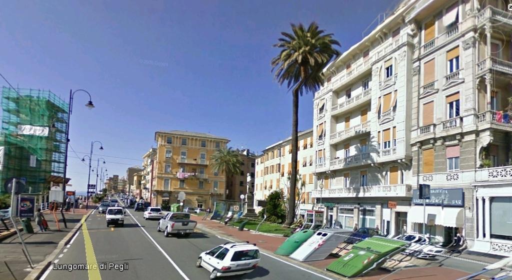 Genova pegli for Lungomare genova