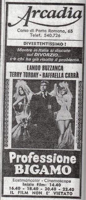 Cinema carcano cinema arcadia - Corso di porta romana 16 milano ...